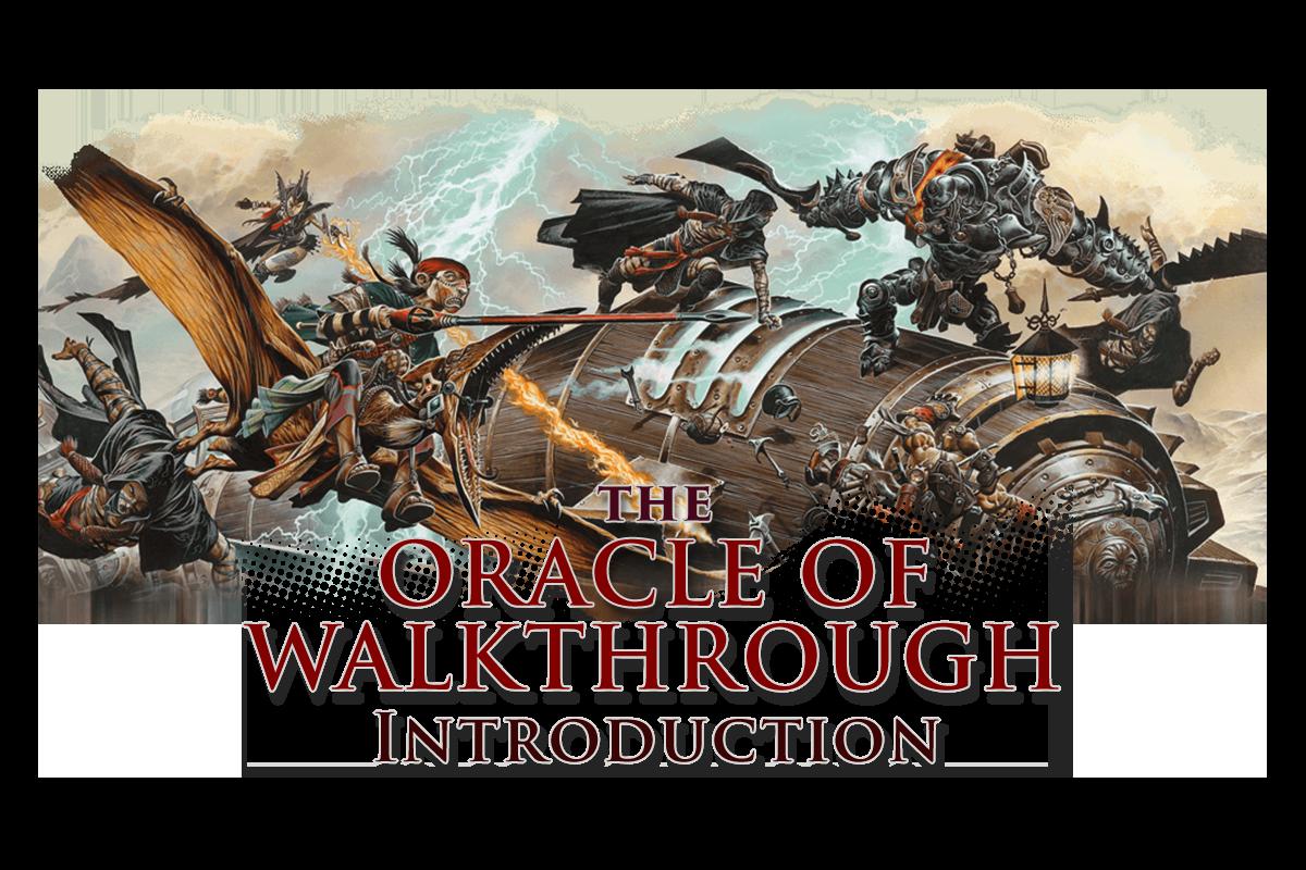 Oracle of Walkthrough: Intro