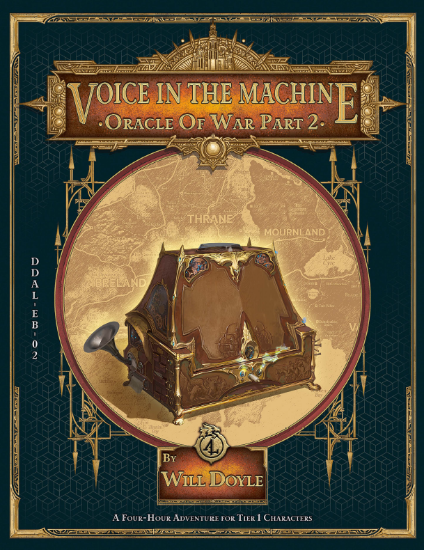 Voice in the Machine for the Oracle of War Campaign