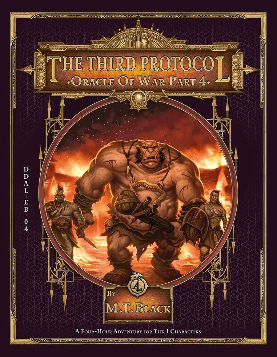 Cover for the Third Protocol