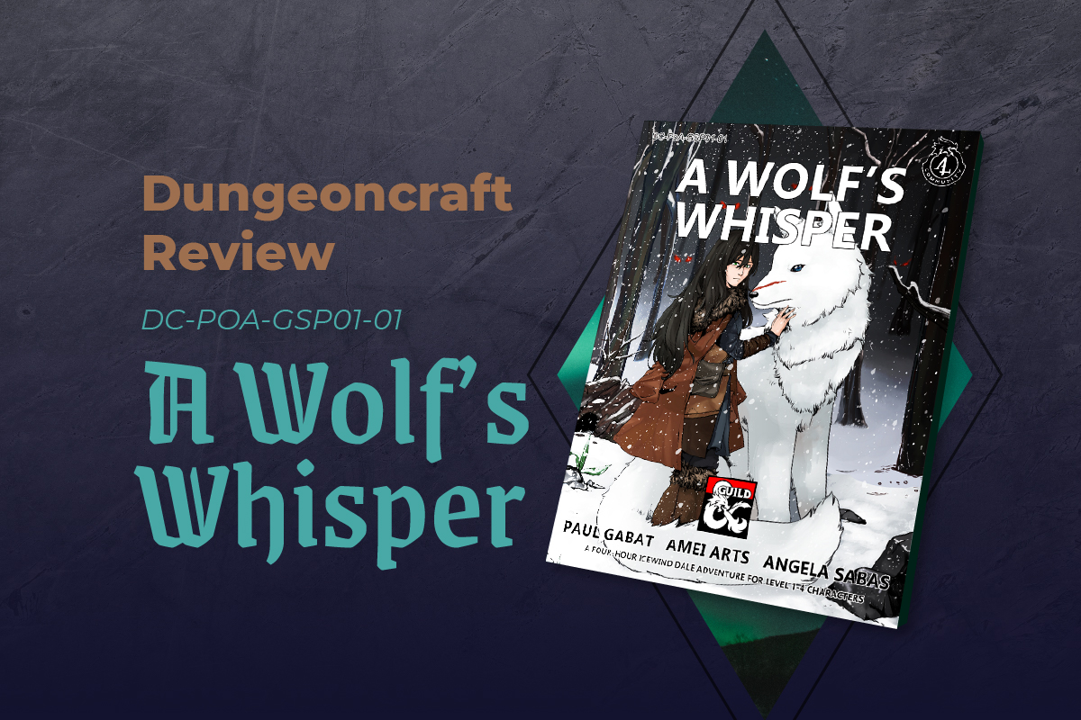 Article Banner for a Wolf's Whisper