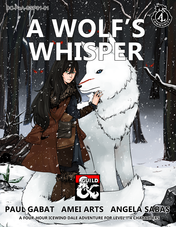 Cover for a Wolf's Whisper
