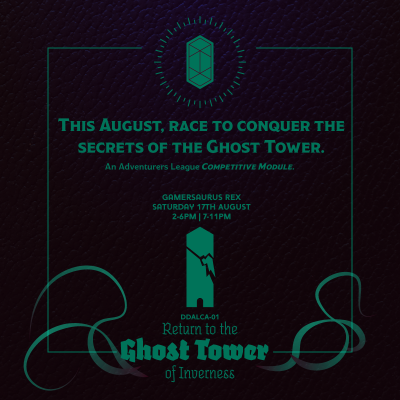 Promo Image for the Return to the Ghost Tower of Inverness event