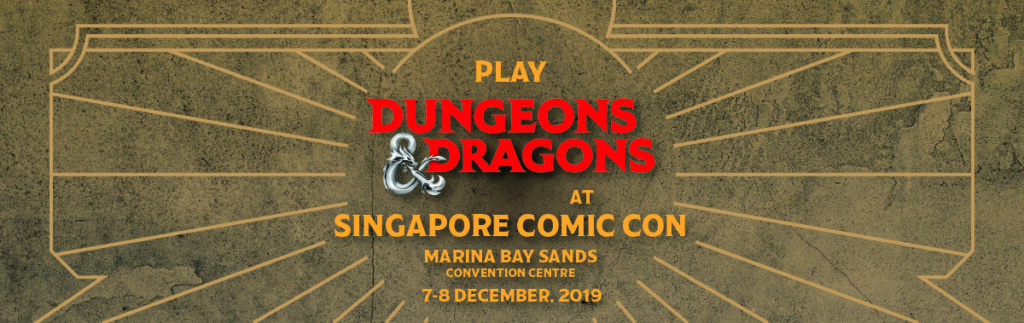Header Banner for TLB at the Singapore Comicon 2019