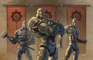The Warforged of Stormreach