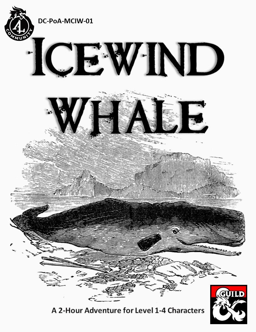 Cover for Icewind Whale