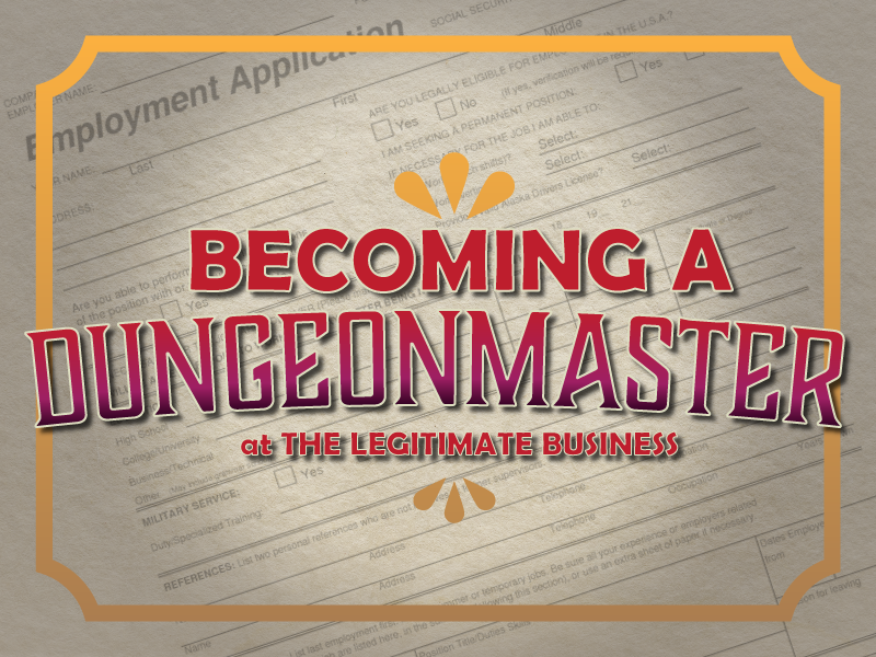 Article Banner for Becoming a DM at TLB