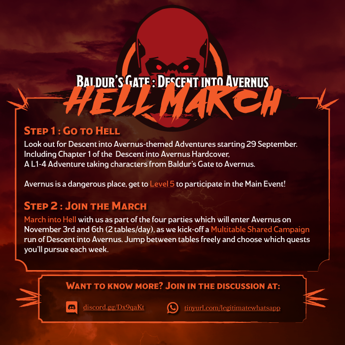 Promo Image for Hell March
