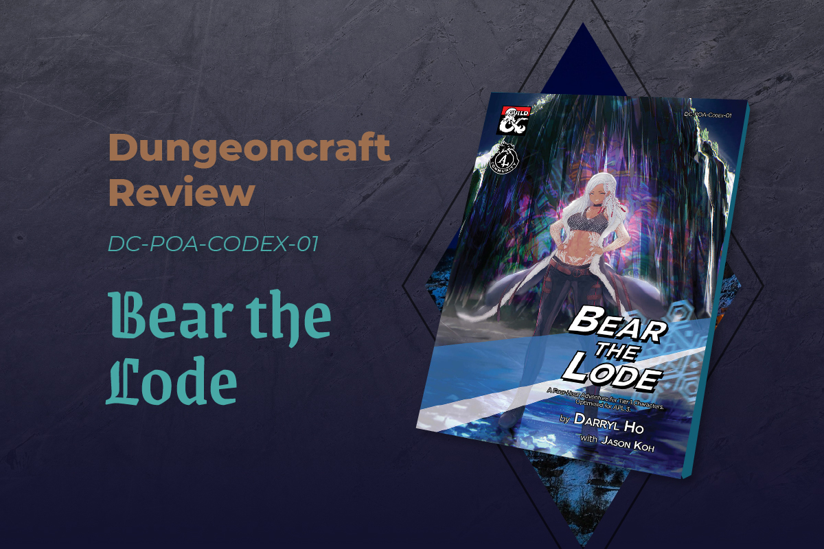 Article Banner for Bear the Lode