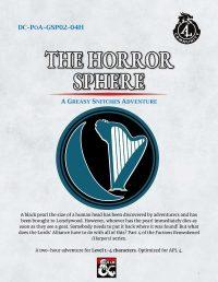 Cover for The Horror Sphere